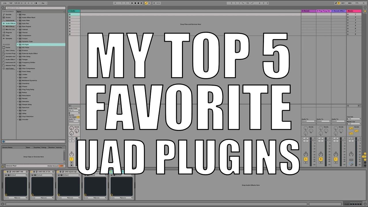My Top 5 Favorite UAD Plugins