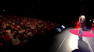 Sword Swallower Dan Meyer TED Talk: Doing the Impossible, Cutting Through Fear | TEDxMaastricht