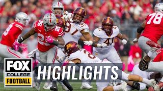 Ohio State vs. Minnesota   FOX COLLEGE FOOTBALL HIGHLIGHTS