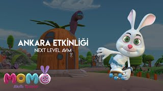 Akıllı Tavşan Momo Ankara Etkinliği - 18 - 19 ocak 🎉