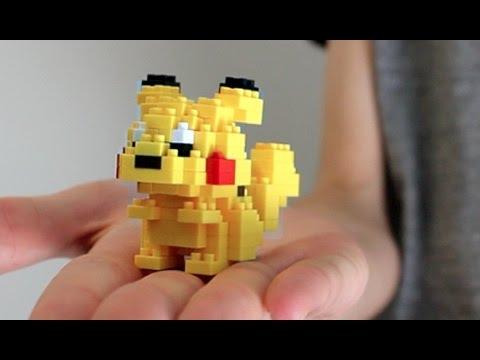 Building Lego Pokemon Pikachu Nanoblock Youtube