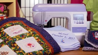 Brother™ Embroidery Products -- PE-770 Embroidery-Only Machine Overview