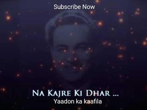 Mukesh - Na Kajre Ki Dhar (Unreleased)  ...