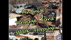 "Antique Car Salvage Yard Walk-Through ""Nick's Auto Parts"" San Antonio, TX"
