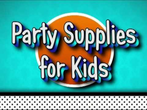Party Supplies For Kids 1