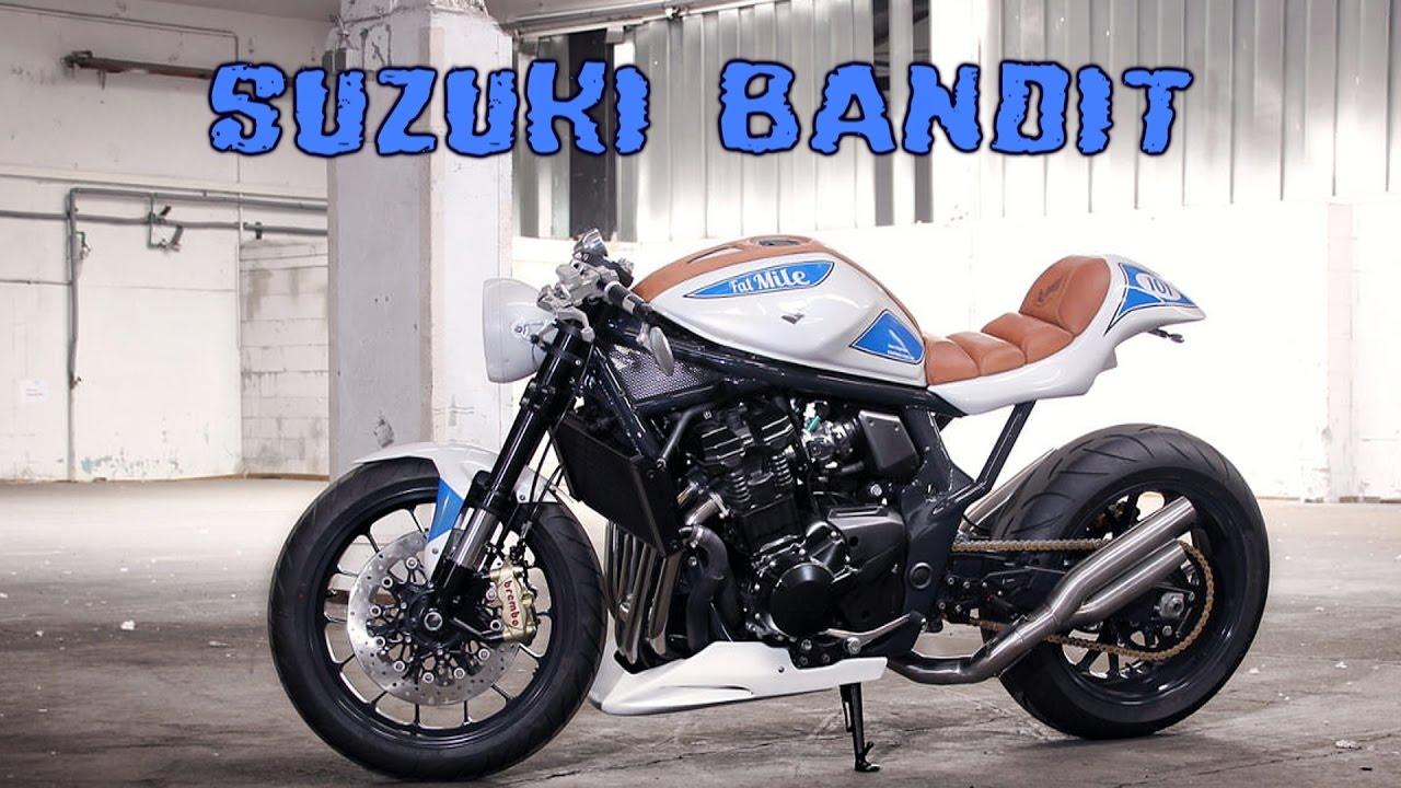 suzuki bandit cafe racer youtube. Black Bedroom Furniture Sets. Home Design Ideas