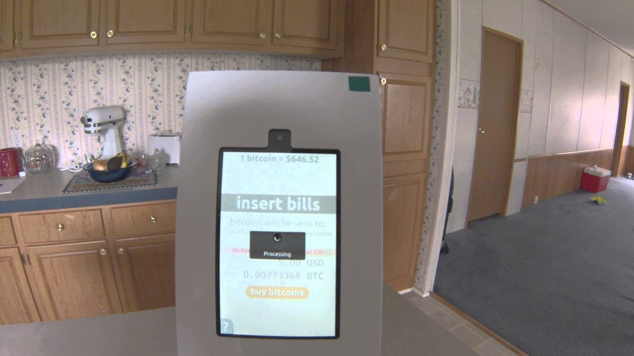 Opensource Bitcoin ATM By Project Skyhook Demo And Review