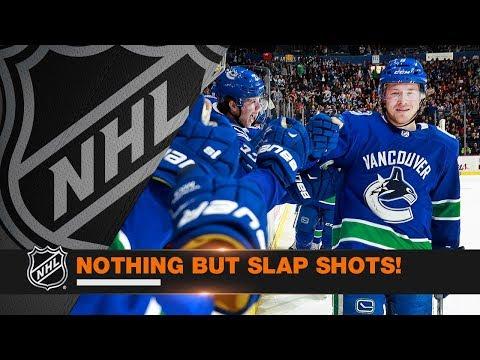 The Best Slap Shot Goals from Week 16