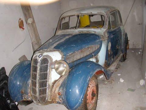Oldtimer BMW 320 20 6cyl 45PS 1937 Barn Find Vorkrieg Prewar