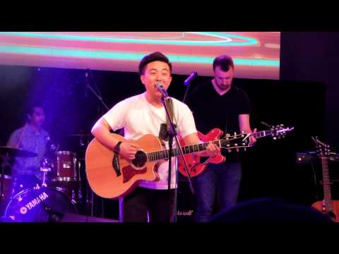 150207 David Choi - By My Side (Live) @ Reach Out 2015