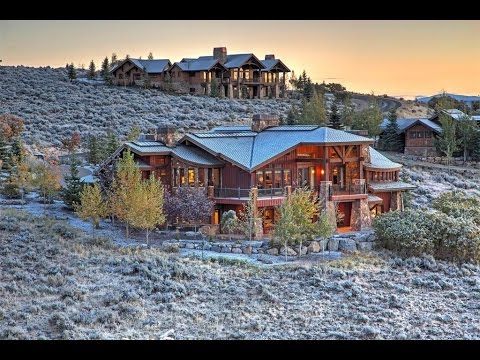 Magnificent Promontory Home In Park City Utah Youtube