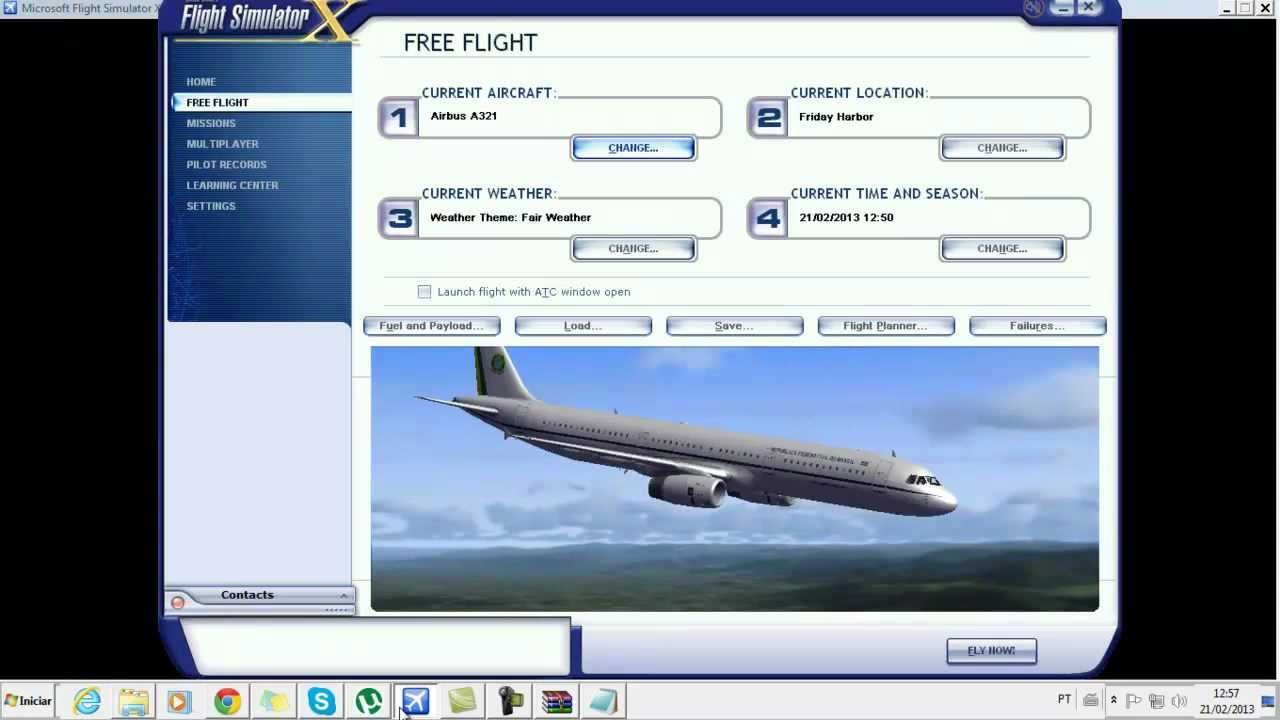 avioes brasileiros para fsx