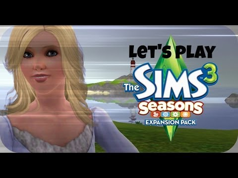 Let's Play The Sims 3 Seasons - Part 15 - Ariel's Birthday! |