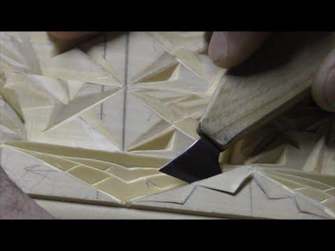 #Wood_carving Резьба по дереву уроки Геометрическая резьба #Adolf-Yurev.com