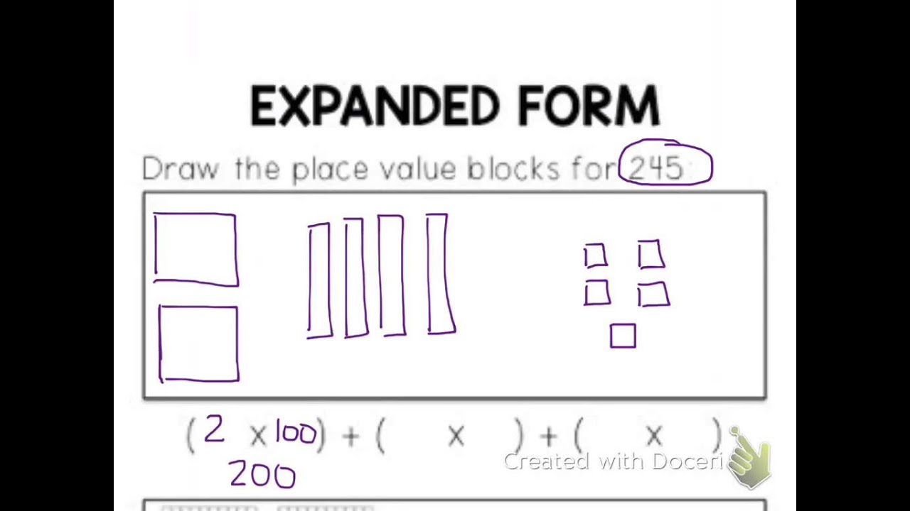 Expanded notation with 3 digit numbers youtube expanded notation with 3 digit numbers falaconquin