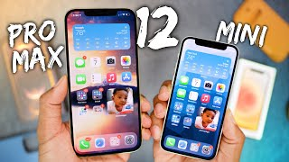 iPhone 12 Pro Max & Mini Unboxing!