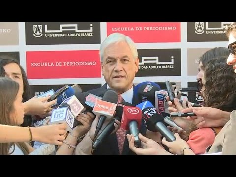 Declaraciones de Sebastián Piñera