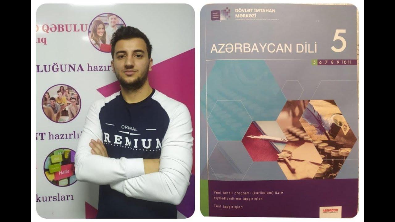 Azərbaycan dili TEST izahları DİM 5-ci sinif səh 147 - Elnur Camallı