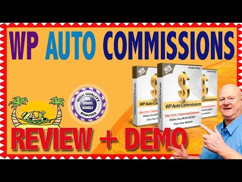 WP Auto Commissions Review With Demo and Big Bonuses Wordpress. http://bit.ly/2Zu27Ph