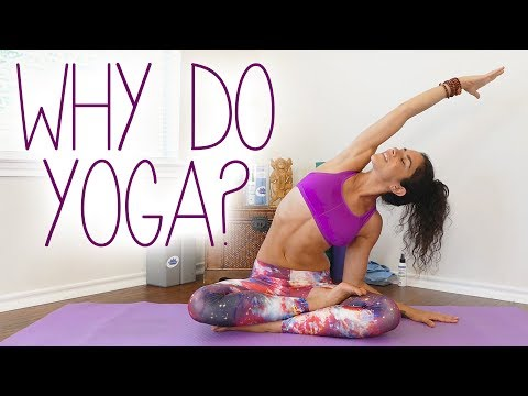 Why Do Yoga? Beginners Yoga with Jess ♥ Flexibility, Back Pain, Anxiety & Stress, Health Benefits