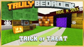 Truly Bedrock S1E47 Trick or Treat, Hide and Seek | Minecraft Bedrock Edition SMP, MCPE, MCBE