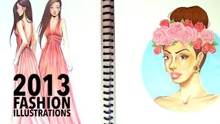 Fashion Illustrations 2013