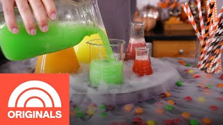 Fruity Skittles Slushies: The Ultimate Halloween Party Drink| TODAY