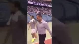 بالفيديو.. سامي الجابر لجماهير #الهلال: أنتم في قلبي