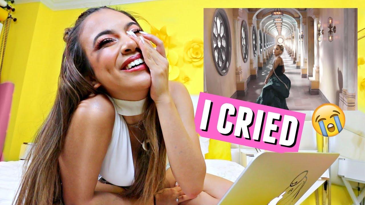Reacting To Ariana Grande No Tears Left To Cry I Cried Okurr