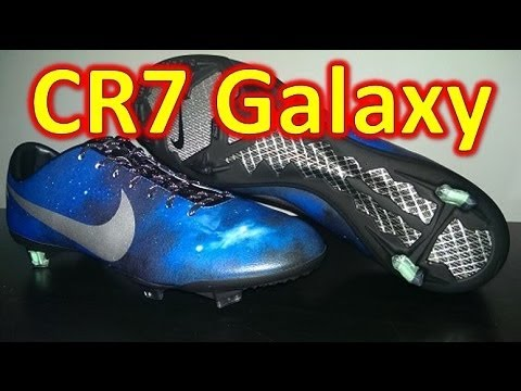 Nike CR7 Mercurial Vapor 9 Galaxy (Ronaldo Edition) - Unboxing + On Feet Travel Video