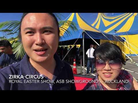 Nonton Zirka Circus di Royal Easter Show 2018, ASB Showgrounds — Andy Thirza Vlog 4 #NZLIFE