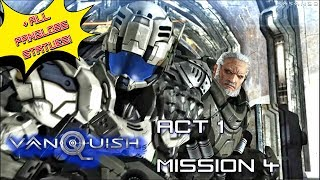 Vanquish (100%) walkthrough Act 1 Mission 4