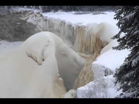 waterfall hay river nwt