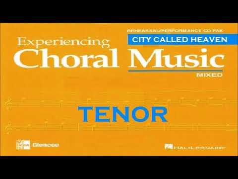 City Called Heaven TENOR satb