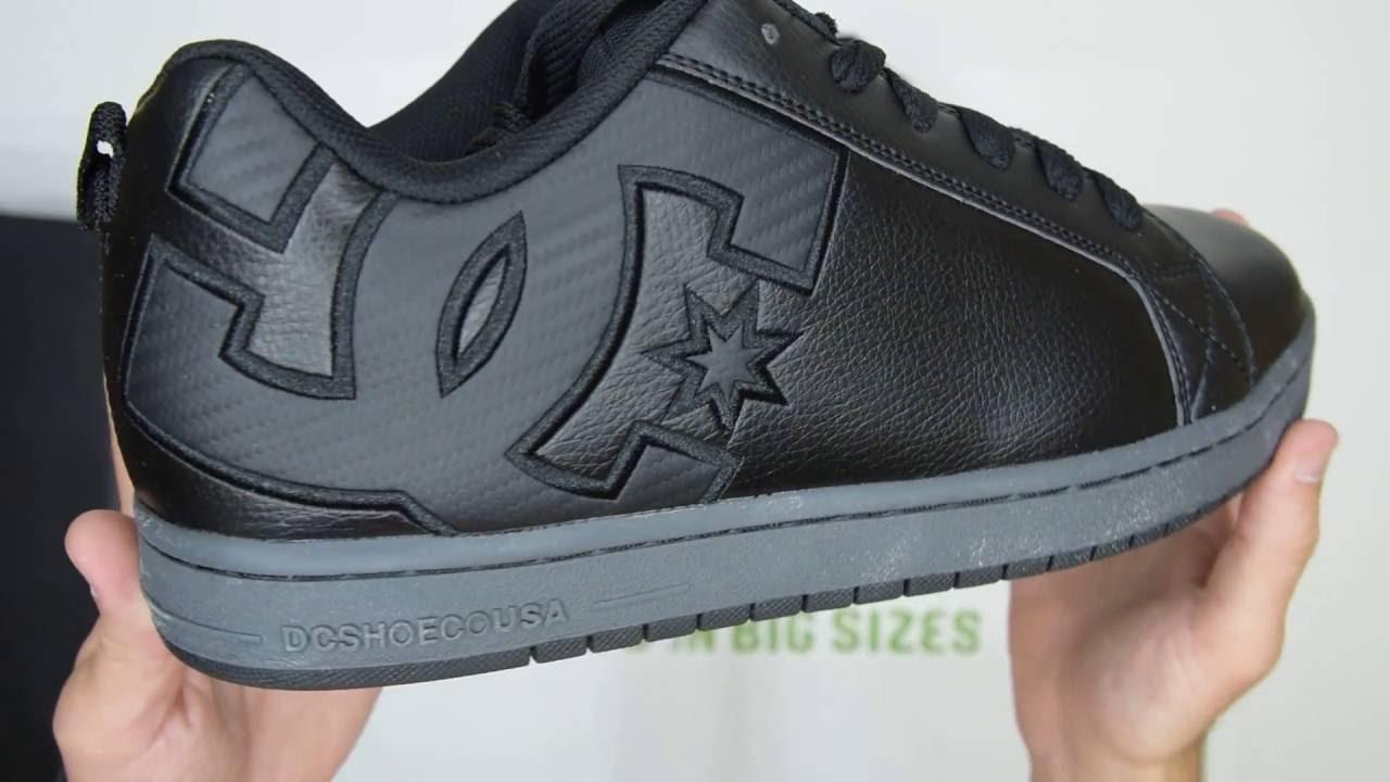 DC Shoes Court Graffik SE - Black