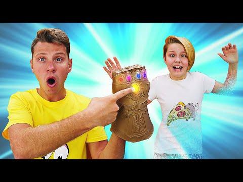 Игры для мальчиков – Перчатка Бесконечности Таноса! Последний камень! - Супергерои в видео онлайн.
