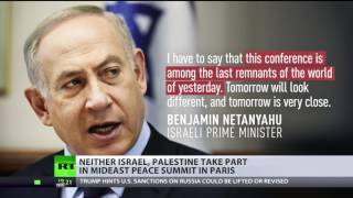 'Pointless' Peace Parley   Israel, Palestine don't take part in Middle East summit