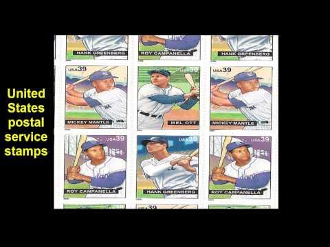 United States postal service stamps
