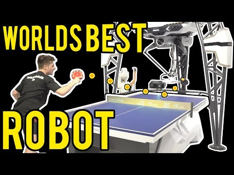 World's Best Table Tennis Robot Vs TableTennisDaily's Dan!