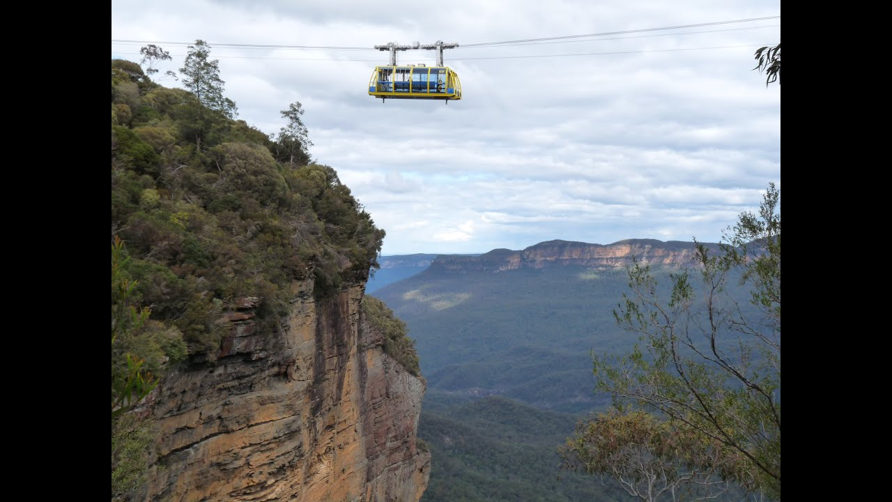 Cable Tv Australia Blue Mountains Skyway Cable Car Hd Youtube