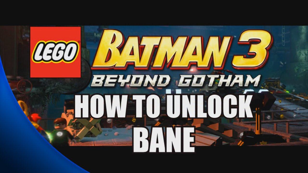 How to Unlock Bane - LEGO Batman 3: Beyond Gotham - YouTube