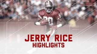 Jerry Rice: The Greatest of All Time   NFL Legend Highlights