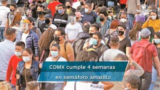 De acuerdo con el último reporte de casos de Covid-19 en la Ciudad de México, se registran 937 mil 969 casos confirmados acumulados, 12 mil 930 casos confirmados activos estimados y 50 mil 63 defunciones