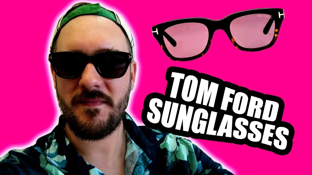 149c216ea0 Tom Ford Snowdon Sunglasses Review (one year) FT0237 50mm Size - YouTube