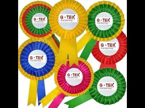 Ribbon Badge Machine | Award Badge Making Sewing Machine | Pleating Machine | Frill Maker |#gohilsew