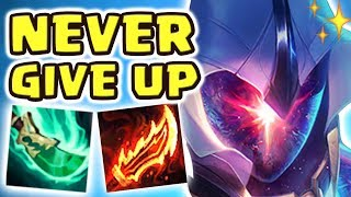 3 INHIBS DOWN 1HP NEXUS PENTAKILL COMEBACK!!! 1 ITEM THAT MADE A 1V9 COMEBACK POSSIBLE | MASTER YI