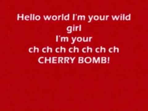 Cherry bomb - The runaways karaoke/instrumental