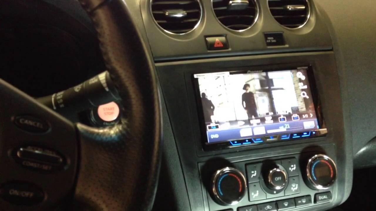 2010 Nissan Altima Pioneer Avh X4800bt Bluetooth