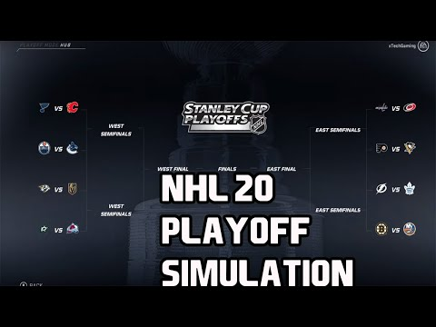 NHL 20 I 19-20  PLAYOFF SIMULATION!