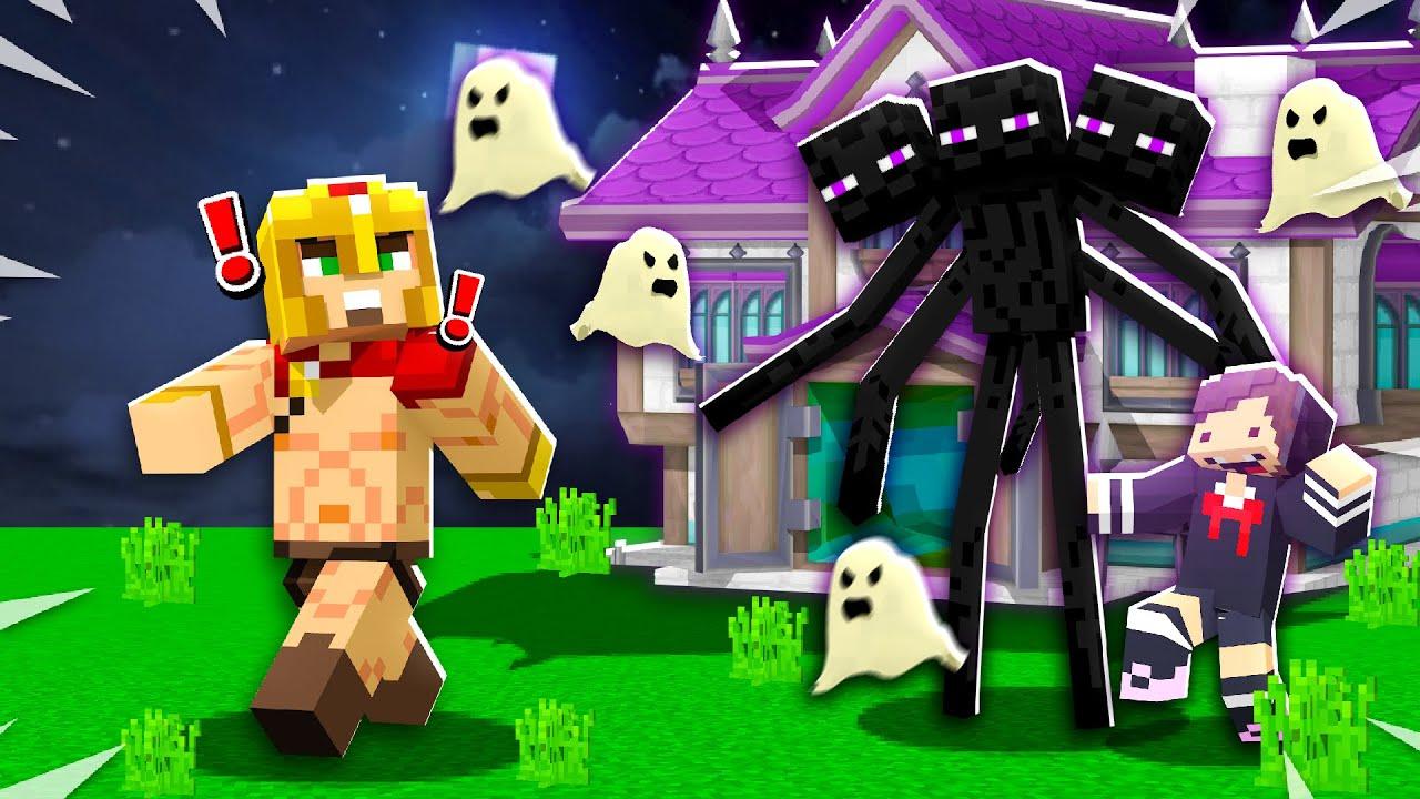 J'explore un parc d'attraction HANTÉ dans Minecraft..